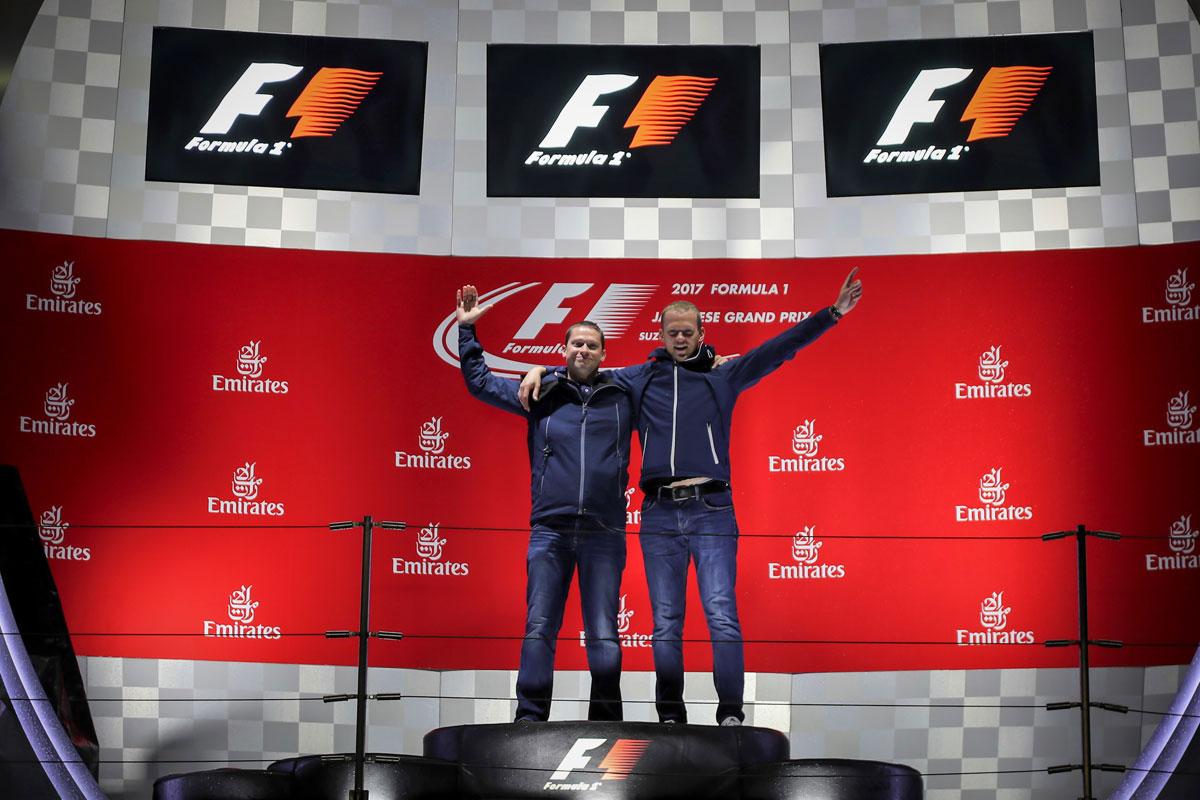 F1 Experiences Fan Package Trophy