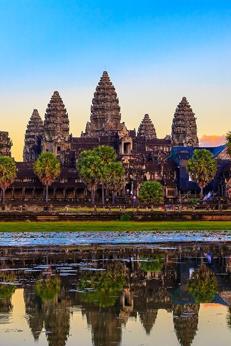 VIETNAM AND CAMBODIA PANORAMA